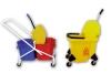 Mop wringer bucket