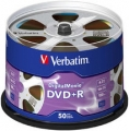 DVD+R 4.7GB 16x Digital Movie 50pk Spindle