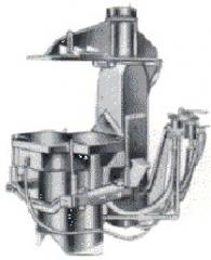 Jolt squeeze molding machine