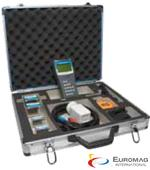 Euromag handheld type ultrasonic clamp on flow