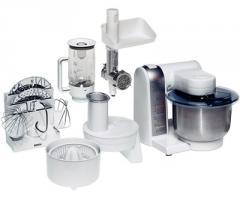 Kitchen machine white ProfiMixx 47 microtronic