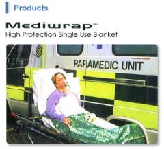Mediwrap® High Protection Single Use Blanket
