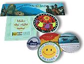 Sticker & Button Badges
