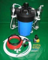 Wet cell hho generator with pp casing 15 plate