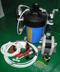 Dry cell hho with pp water tank