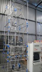 Rotating disc liquid-liquid extraction unit model: