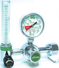 Oxygen Regulator with Flowmeter - Single Stage