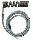 High temperature coil spring heater