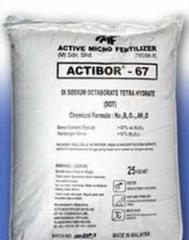 Boron addititive for wood preservation actibor 67