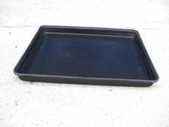 Conductive tray frp
