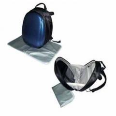 Sd shield diaper bag blue