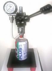 Vacuum gas checker