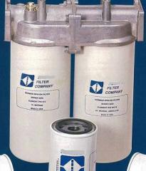 Water & particulate filter for dispenser