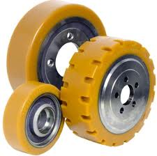 Forklift tires and wheels