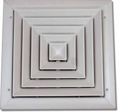 Multi-direction ceiling diffuse model mcd-4t
