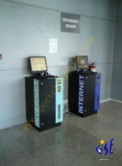 Internet kiosk