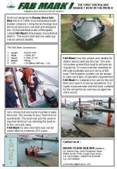 FAB Mark 1, Baung Utara Unique Fiberglass Assault Boat