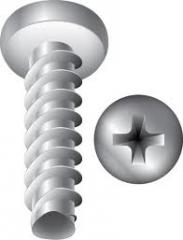 Screws for plastic