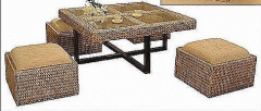 SQUARE STOOL Living Room Set Collection