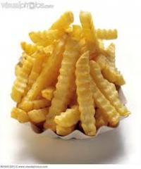 French fries Crincle Cut