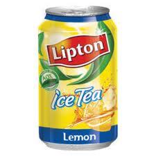 Beverages, carbonated, sweet ice lemon tea