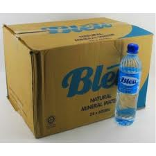 Mineral water Bleu is a premium mineral water