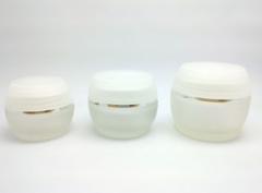 Glass Jar with Lucent Cap