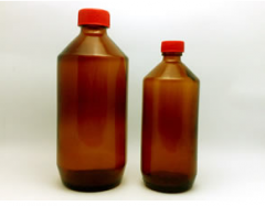 Glass Bottle for Syrup