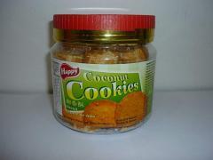Cookie Biscuit 'Happy' Coconut Cookies