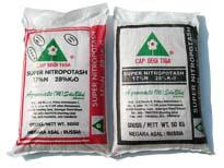 Fertilizers for farming cap segi tiga