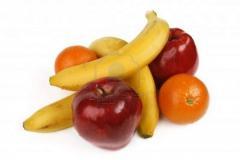 Exotic fruits banana assorted