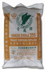 Organic fertilizers Green Eagle 555
