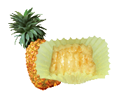 Butter Cookies Pineapple