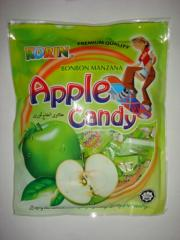 Fruit candies Apple