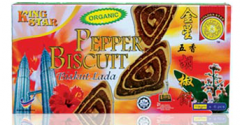 "Cookie Biscuit ""Organic Pepper"""