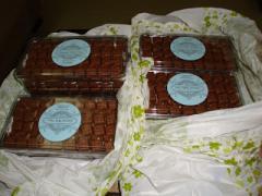 Chocolate cookies Almond Ketupat Praline