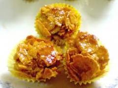 Cookie biscuit Cornflake Cluster