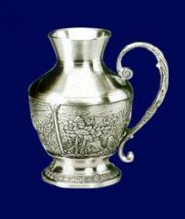 Equipment for fictile craft pewter craft pewter jug pitcher