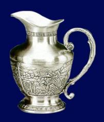 Pewter craft pitcher