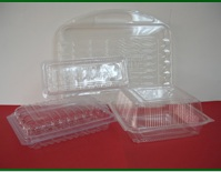 Plastic blister Boxes polymer (PET)