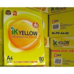 Ik Yellow A4 Copy Paper A4 Copy Paper
