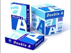 Double A A3 & A4 80gsm office copy paper
