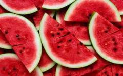 Fresh fruits watermelon
