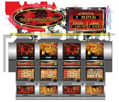 Universal gaming video automata Red Dragon