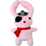 "Small dolls Pinkie Pirate 24"" Pillow"
