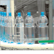 PET bottle production