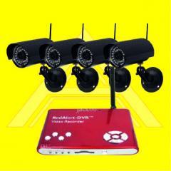 Wireless CCTV With Mini DVR