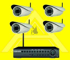 NVR Wifi Surveillance System (Wireless)