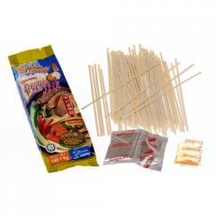 Noodles of instant cooking mee itick