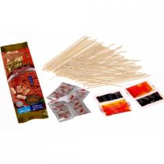 Noodles of instant cooking Mee pedas